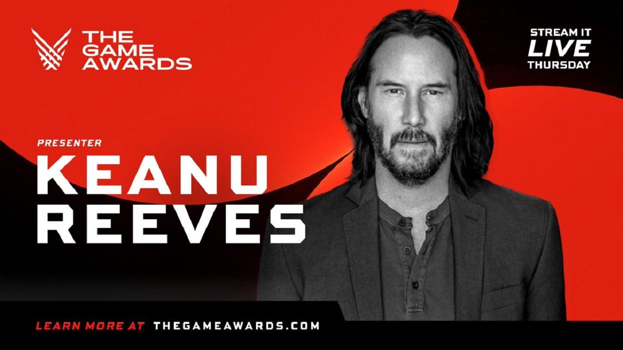 Keanu Reeves tra i presentatori dei The Game Awards 2020 thumbnail