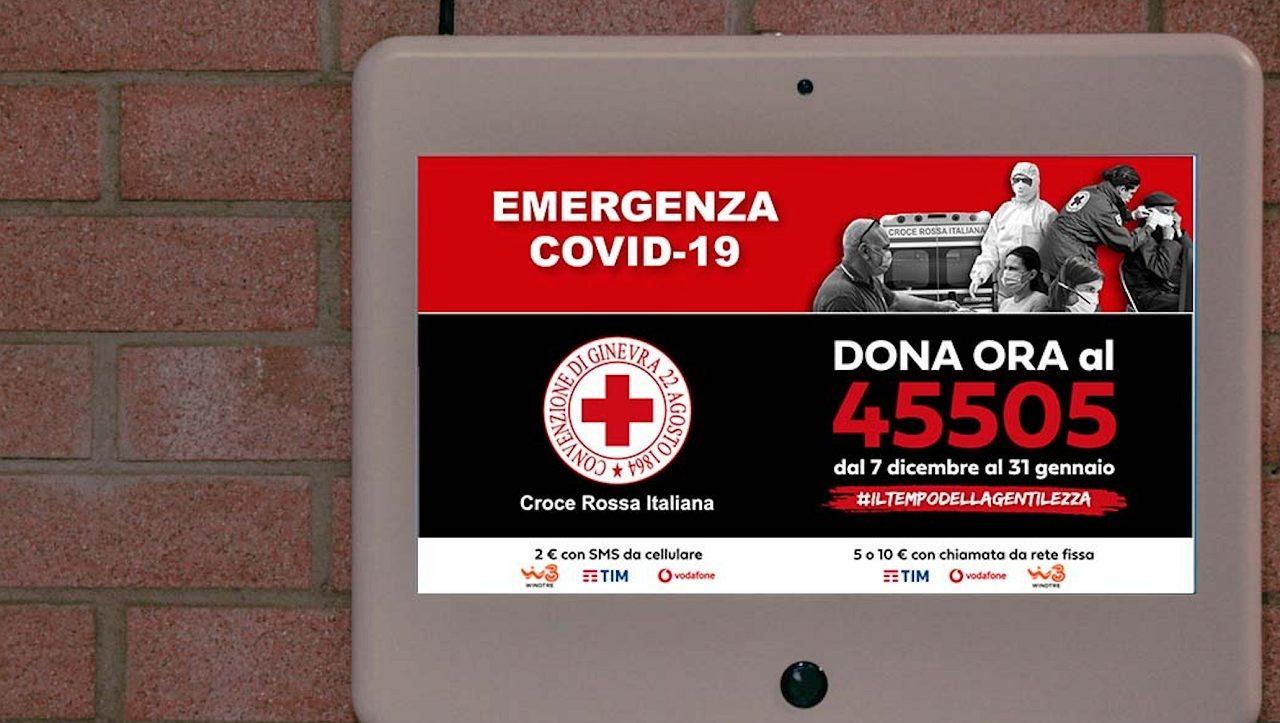 Laserwall sostiene Croce Rossa Italiana thumbnail