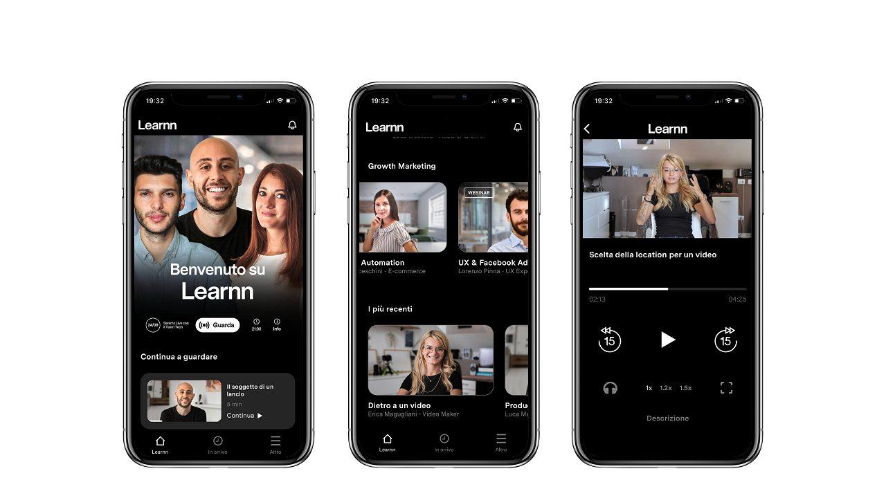 Per l'apprendimento digitale nasce la piattaforma Learnn thumbnail