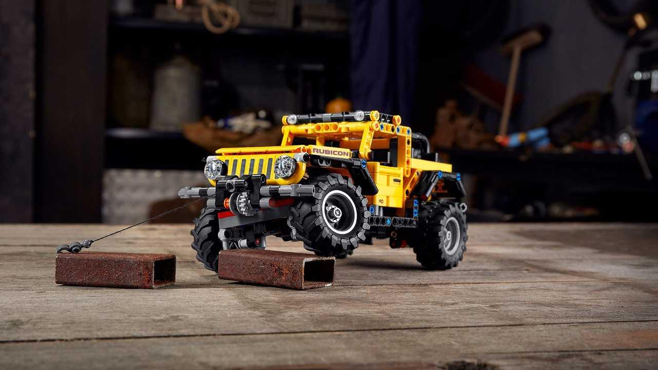 LEGO Technic present il nuovo modellino della Jeep Wrangler thumbnail