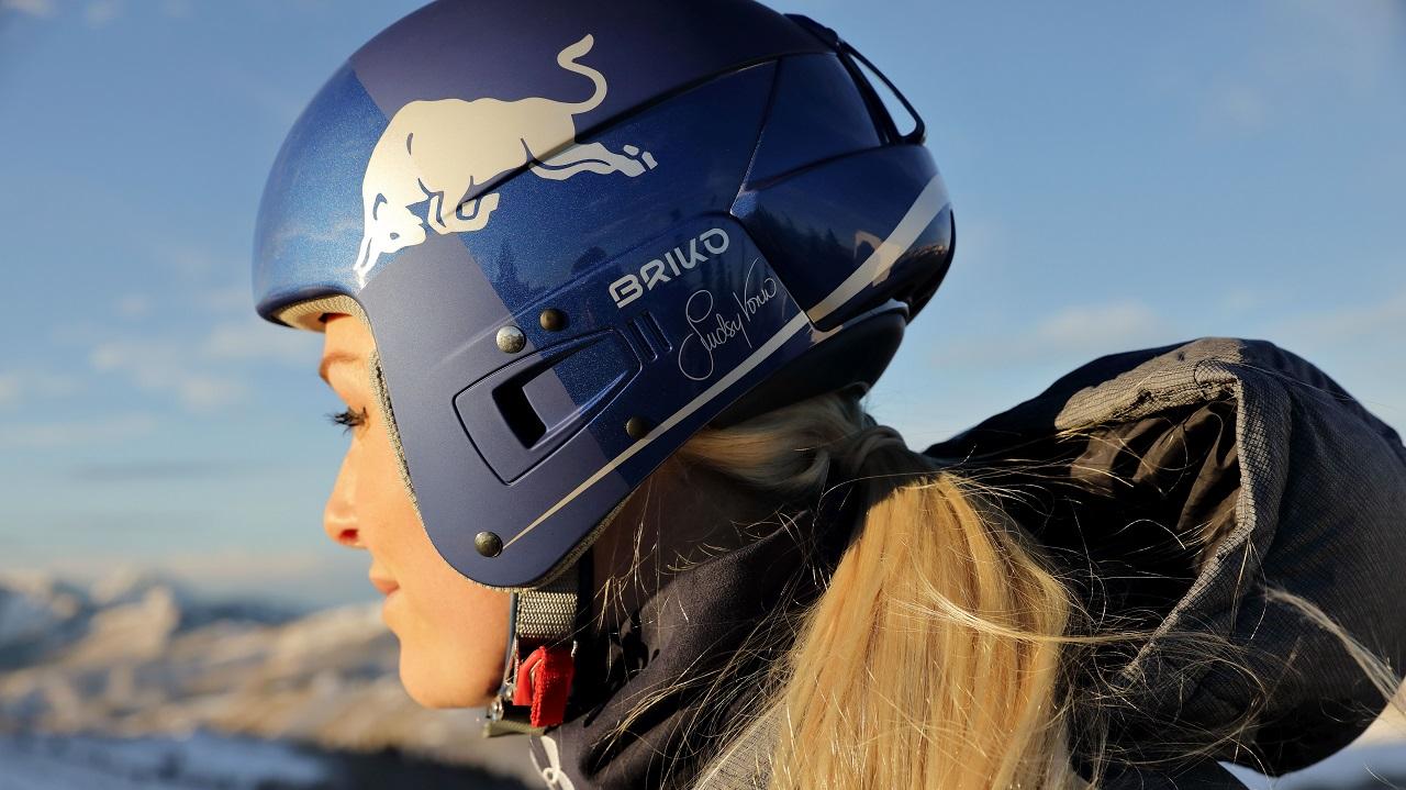 Lindsey Vonn e Briko presentano un nuovo casco thumbnail