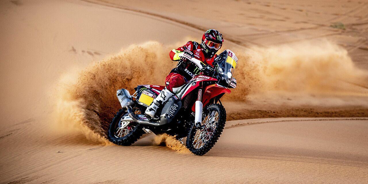 Line-up Honda 2021 Dakar