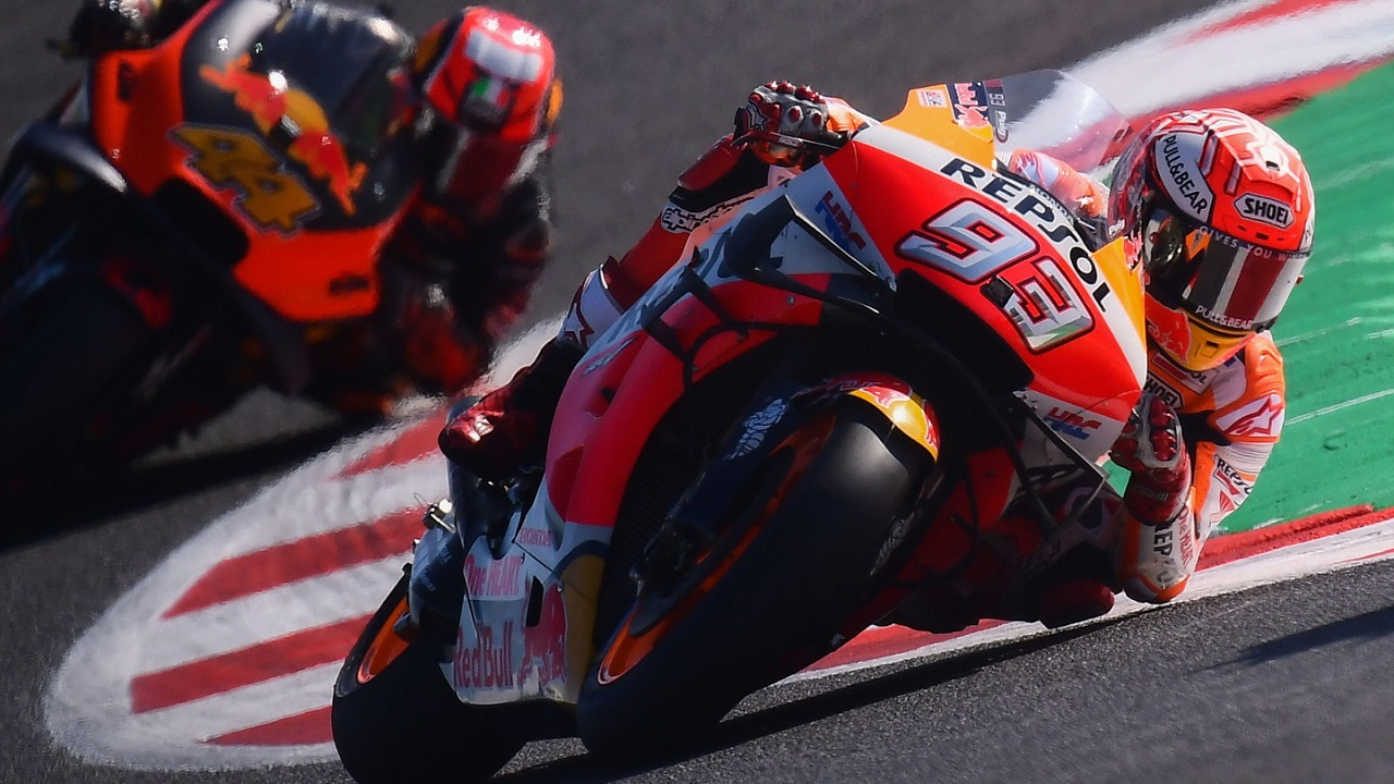 C'è anche Marc Marquez alla presentazione della line-up di piloti Honda per la stagione 2021 thumbnail