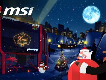 MSI Christmas Cashback