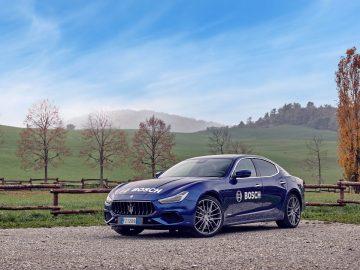 Maserati Ghibli Hybrid Bosch
