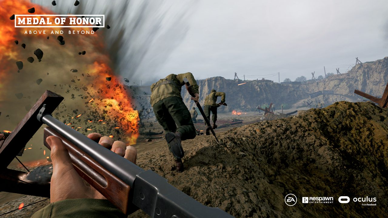 Medal of Honor: Above and Beyond disponibile da oggi thumbnail