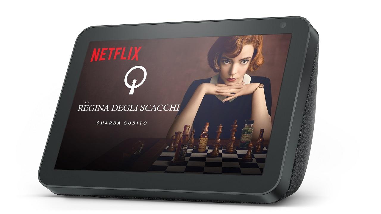 Netflix arriva sui dispositivi Echo Show thumbnail