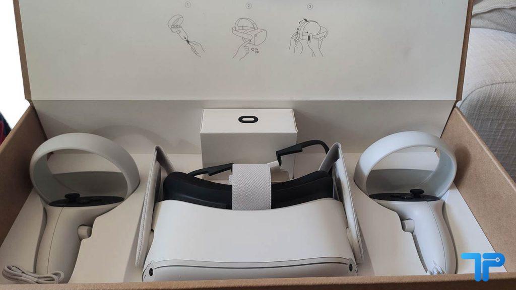 confezione Oculus Quest 2