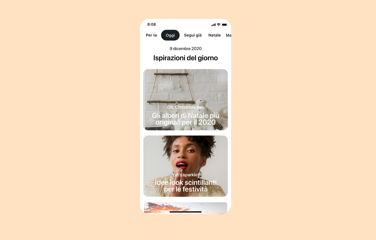 Pinterest lancia la scheda Oggi in Italia thumbnail