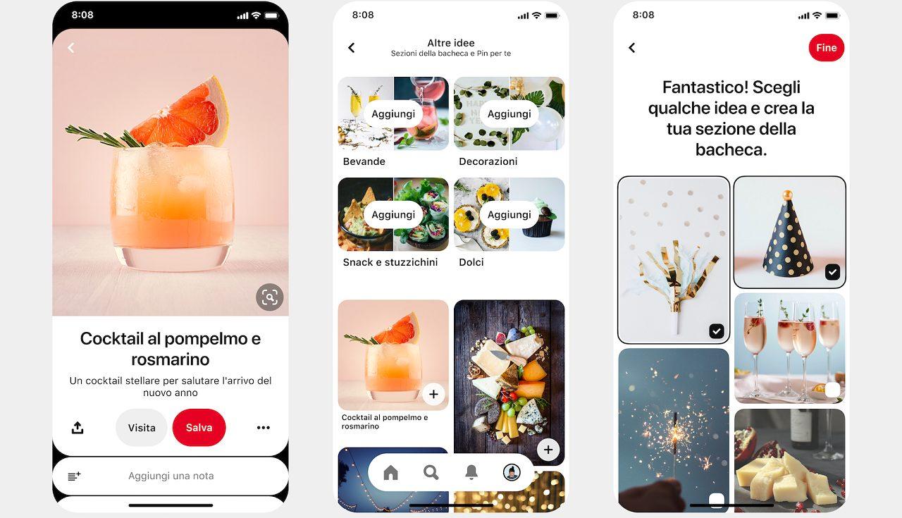 Pinterest lancia nuove funzioni per le bacheche thumbnail