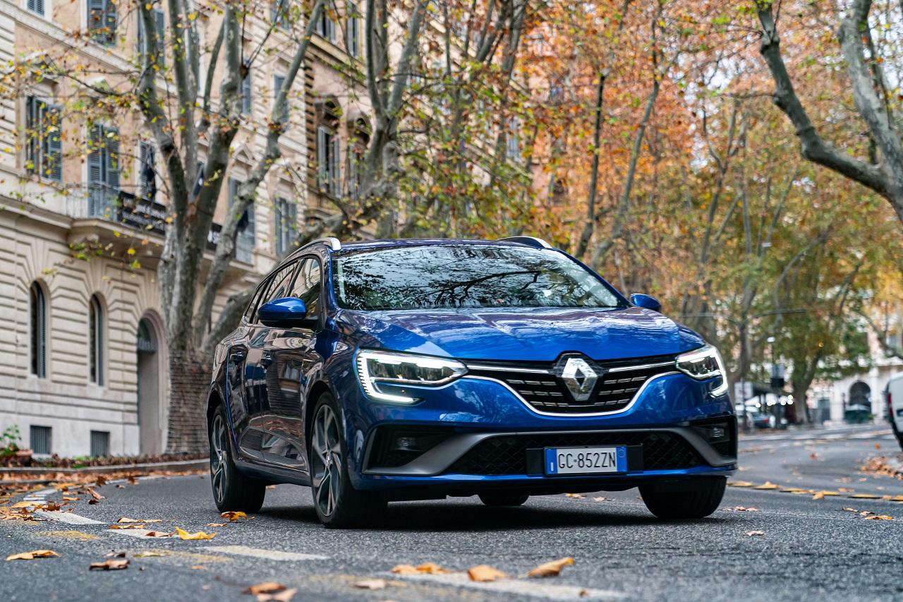 Renault Mègane E-TECH frontale