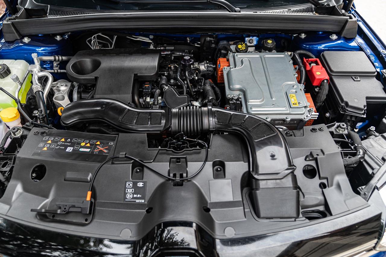 Renault Mègane E-TECH motore