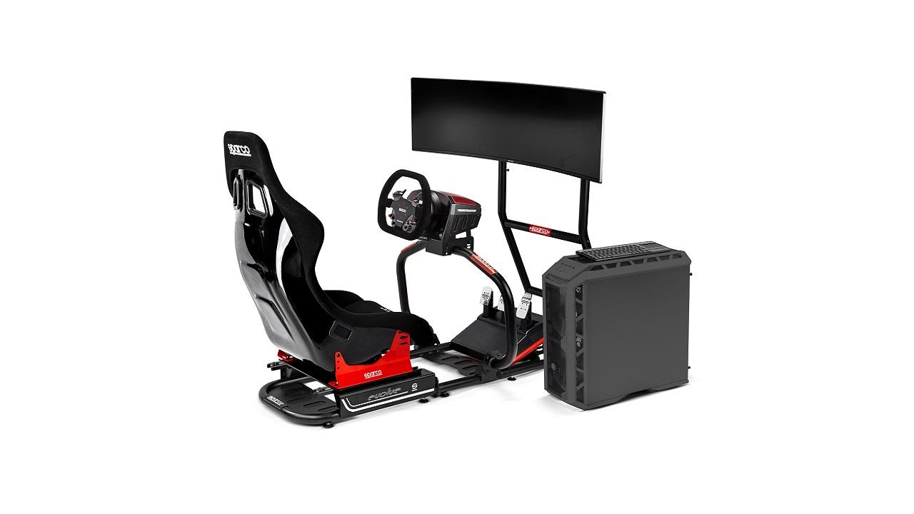 Sparco rinnova la linea gaming e lancia il simulatore EVOLVE GP thumbnail
