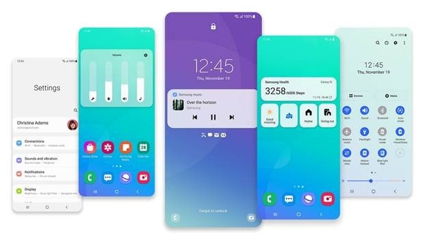 Samsung One UI 3 uscita-min