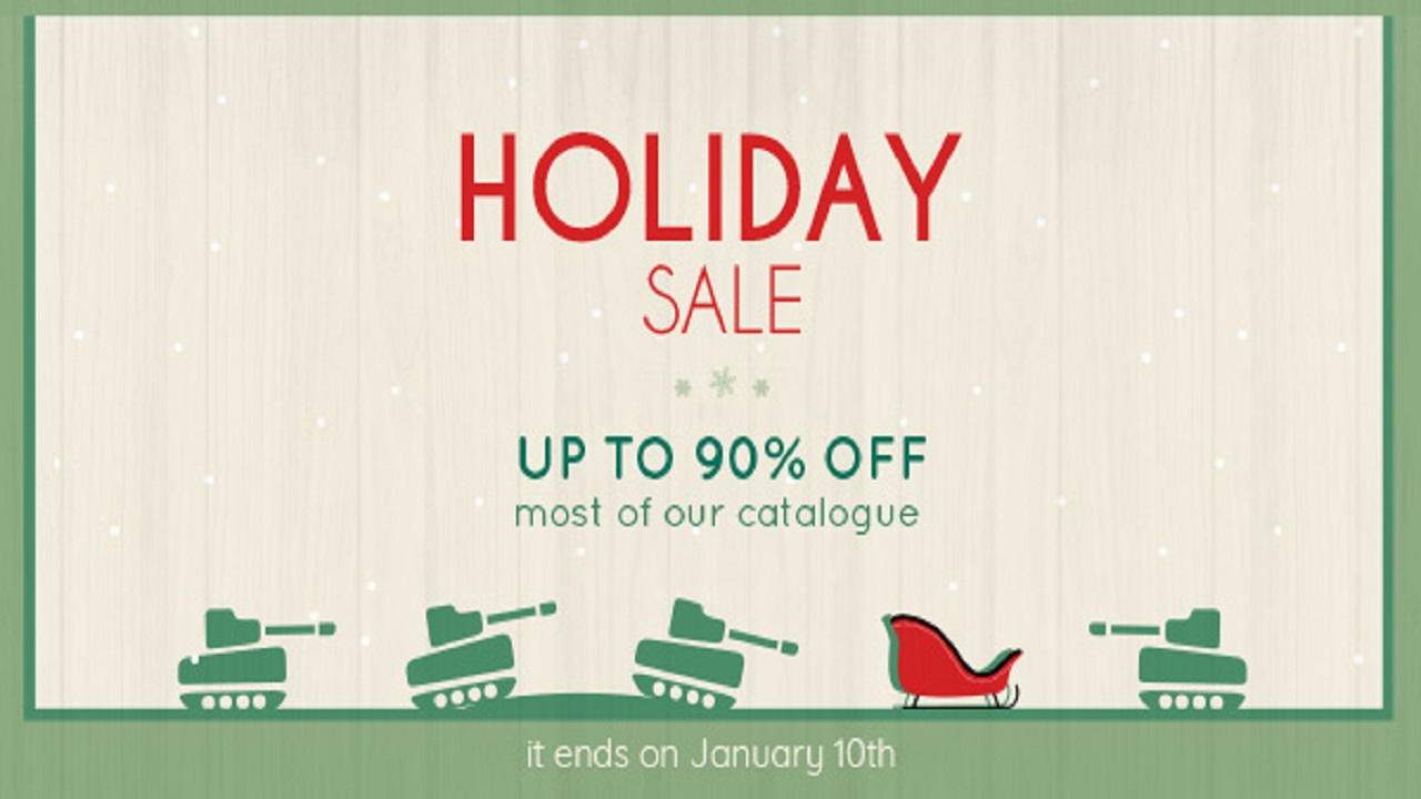 Saldi natalizi anche in casa Slitherine, tanti sconti fino al 90% su un ampio catalogo di giochi thumbnail