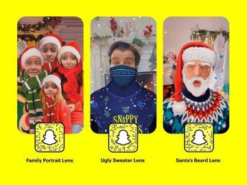 Snapchat Holiday Lenses natale-min
