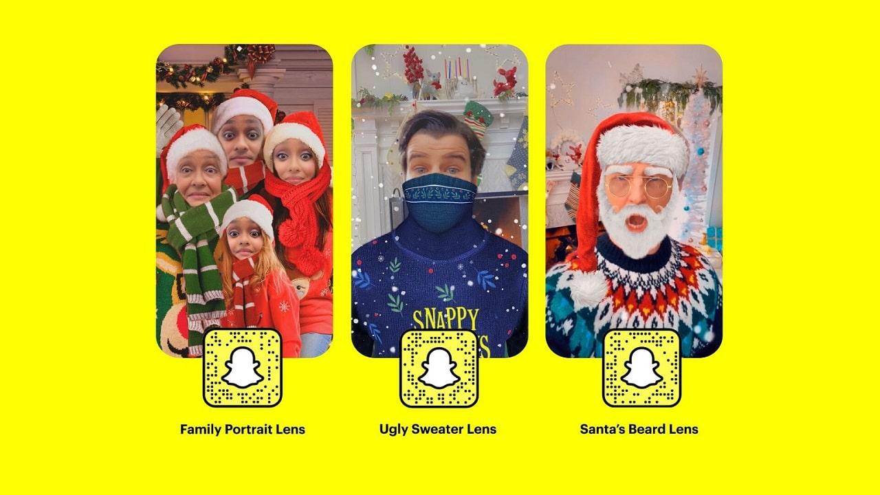 Tutte le novità di Snapchat per Natale thumbnail
