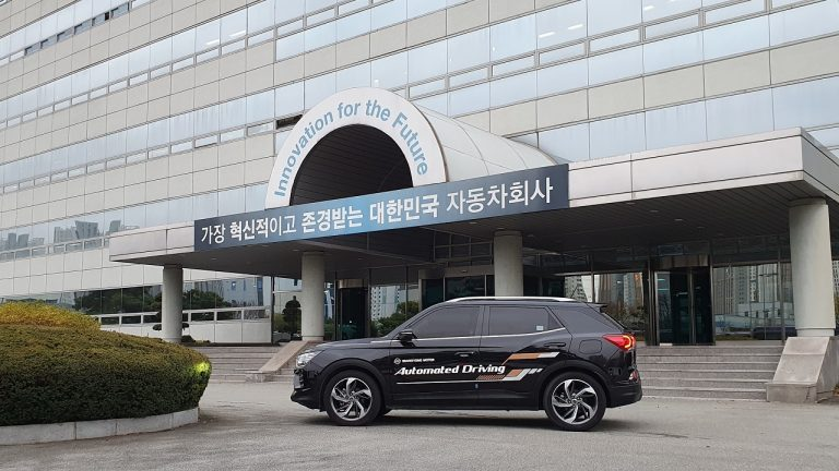 SsangYong veicoli a guida autonoma