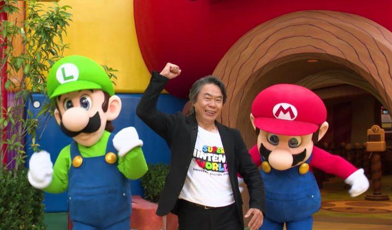 Visitiamo il Super Nintendo World con Shigeru Miyamoto