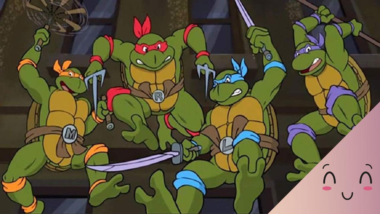 Tartarughe Ninja alla riscossa: quattro guerrieri con 'nomi d'arte' thumbnail