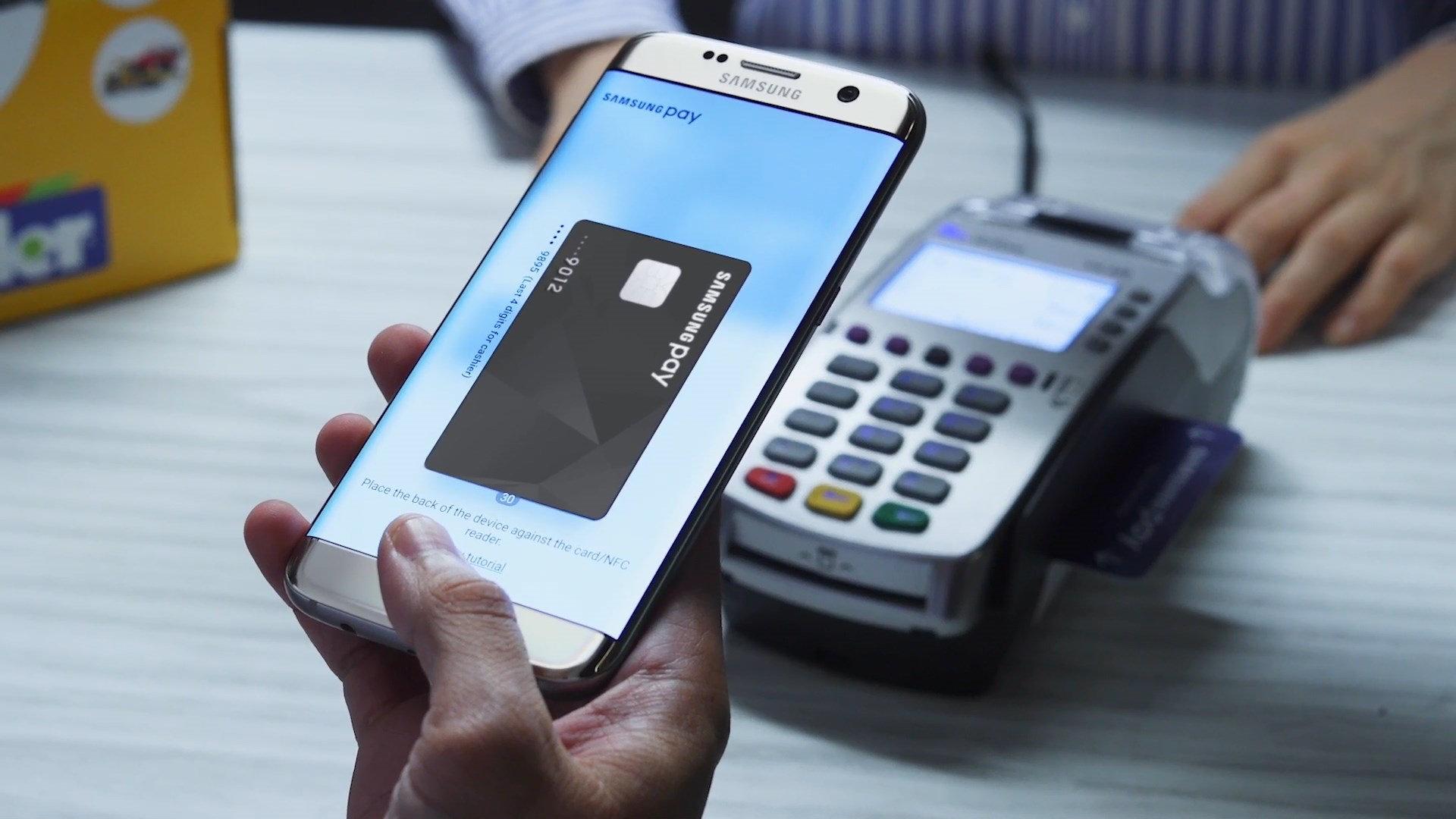 Samsung Pay pos