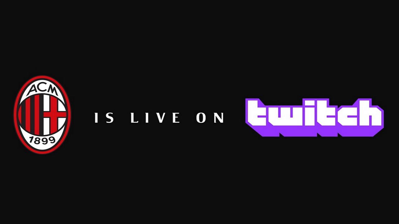 Il Milan apre il suo canale ufficiale su Twitch thumbnail