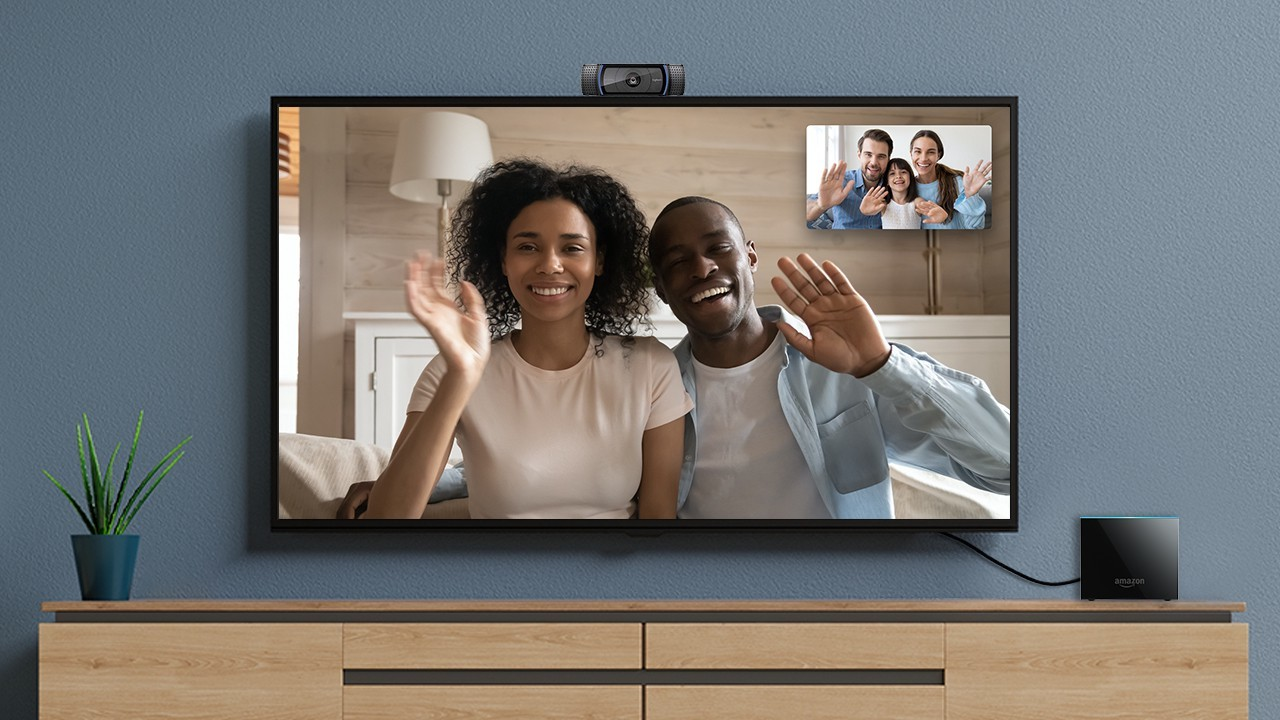 Chi possiede Fire TV Cube può effettuare videochiamate dalla TV thumbnail