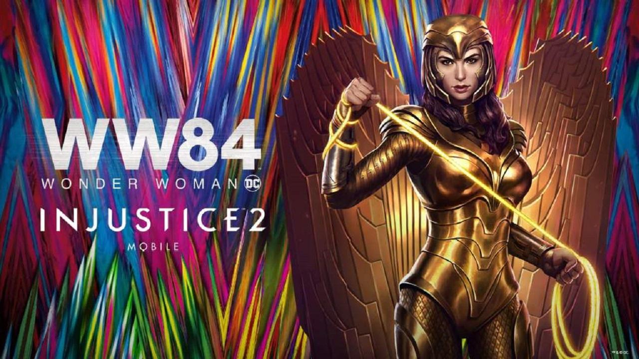 """La versione """"Wonder Woman 1984"""" è ora disponibile su Injustice 2 Mobile thumbnail"""