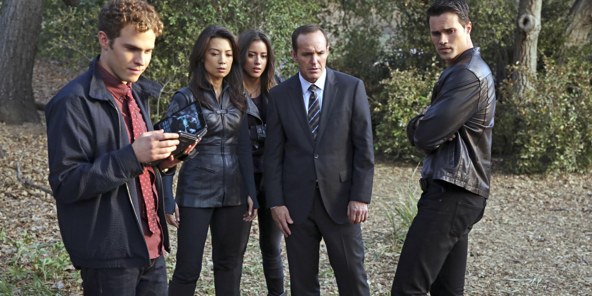 agents of shield squadra agenti