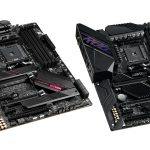 asus rog Crosshair VII Dark Hero e Strix B550-XE Gaming