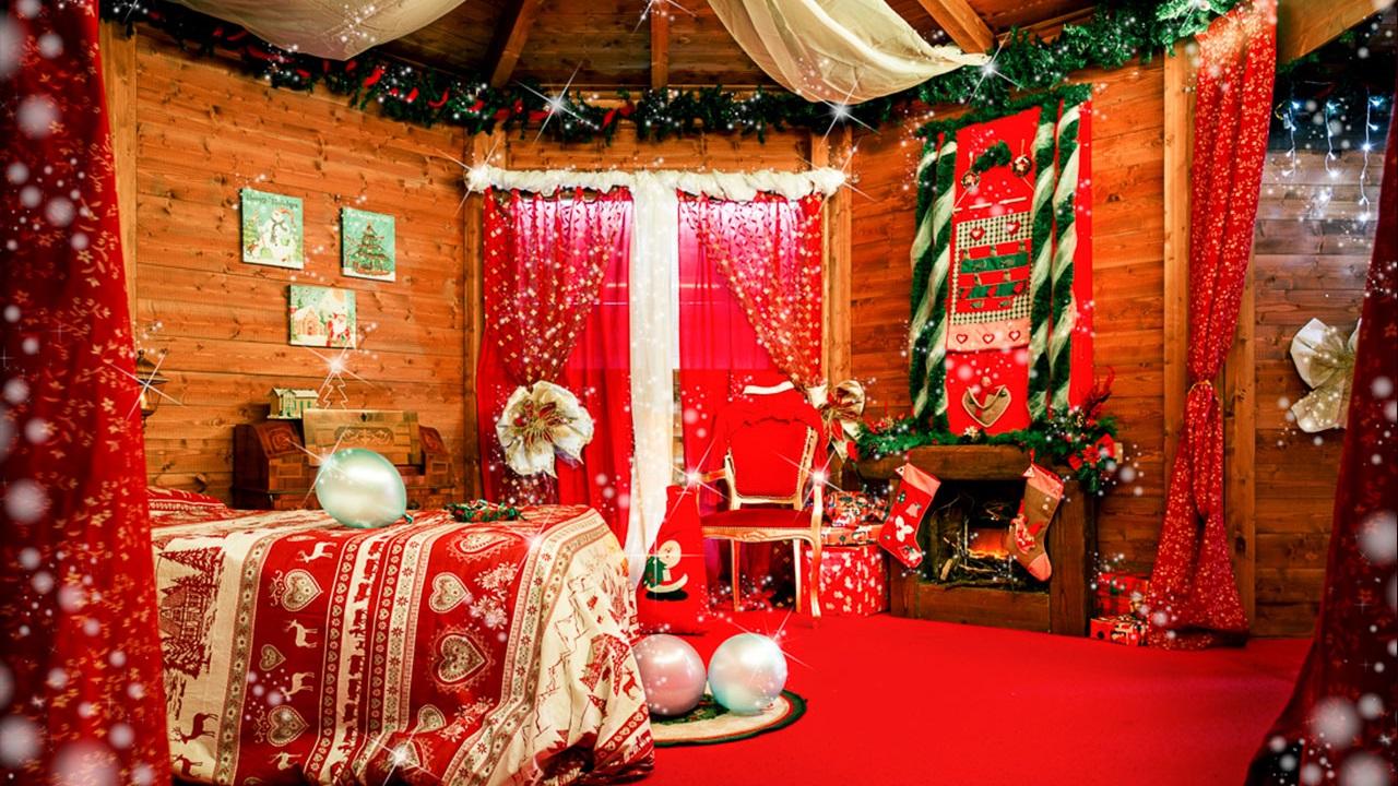 Babbo Natale presenta online la sua casa thumbnail