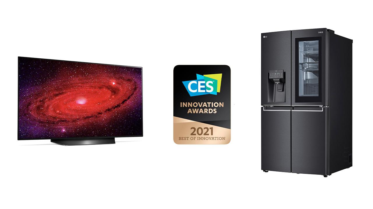ces 2021 best of innovation LG