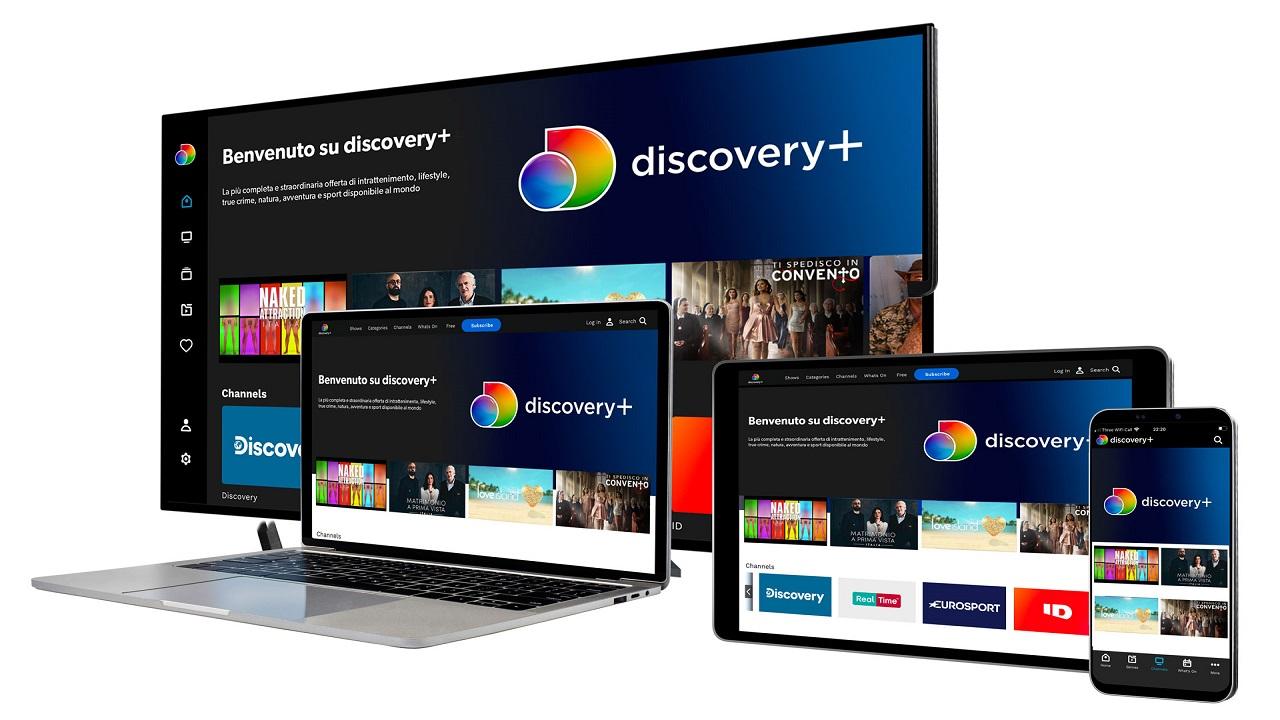 Annunciato Discovery+, il nuovo servizio streaming sarà disponibile nel 2021 thumbnail