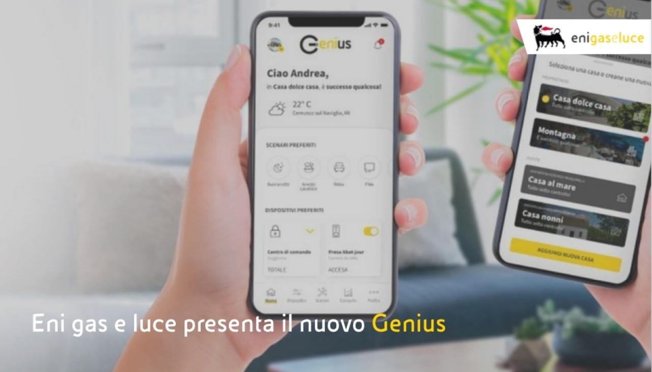 Eni gas e luce presenta una versione evoluta di Genius thumbnail