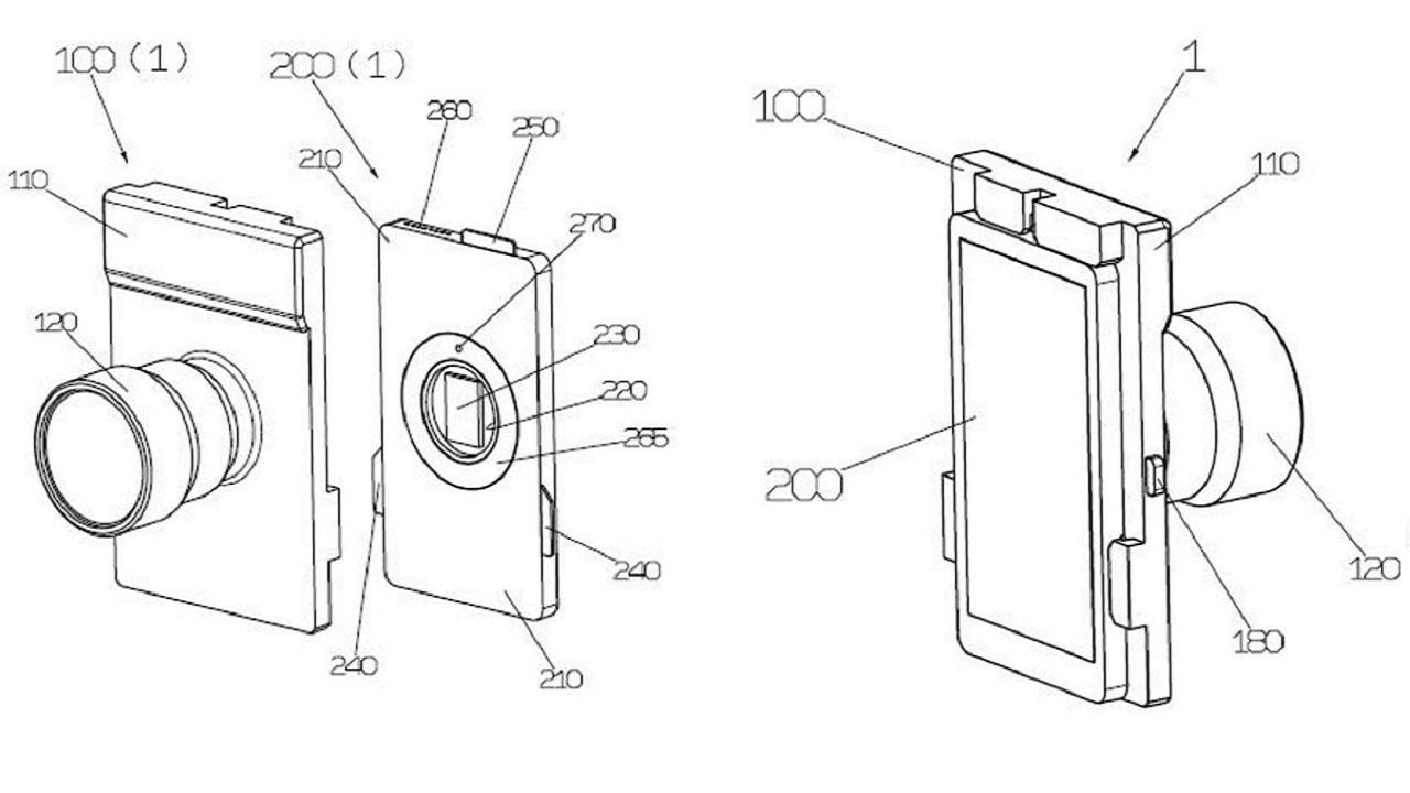 Yongnuo brevetta una fotocamera modulare da attaccare allo smartphone thumbnail