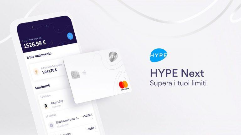 hype next caratteristiche e costo