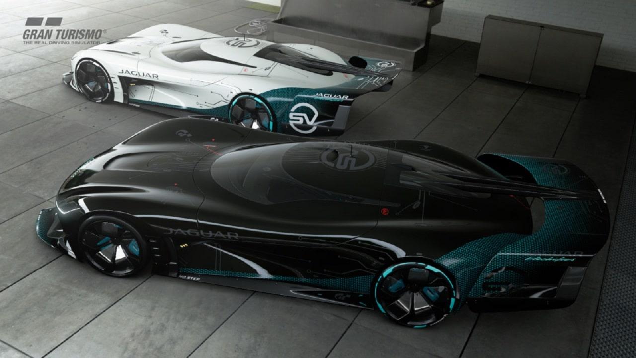 """La nuova auto elettrica di Jaguar si guida solo in """"Gran Turismo"""" thumbnail"""
