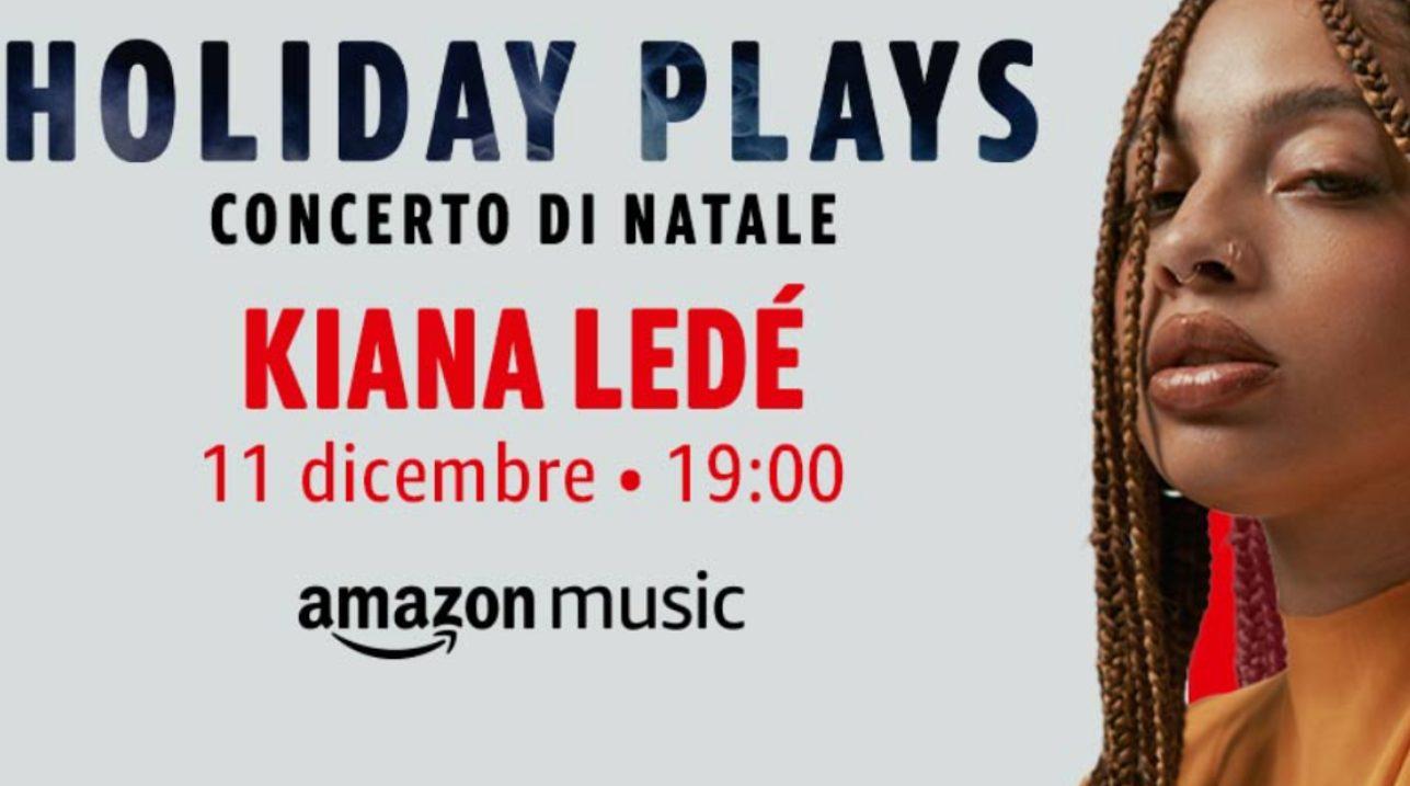 Kiana Ledé in concerto su Amazon Music thumbnail