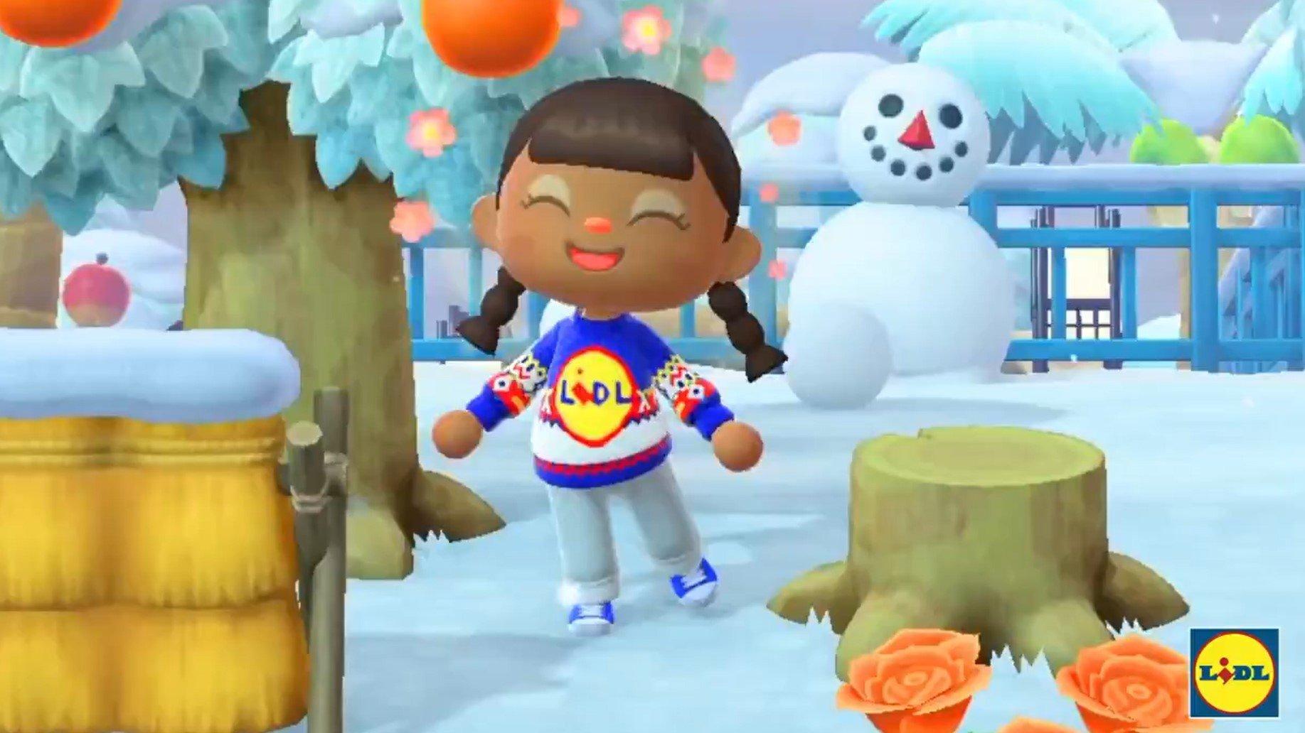 Il maglione di LIDL arriva su Animal Crossing thumbnail