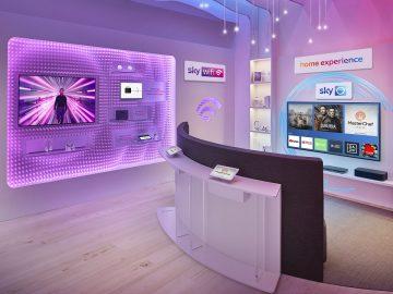 negozio Sky Italia