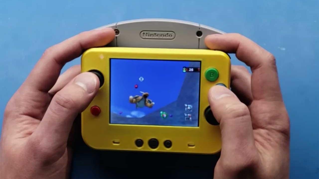 Il Nintendo 64 in versione portatile diventa realtà thumbnail
