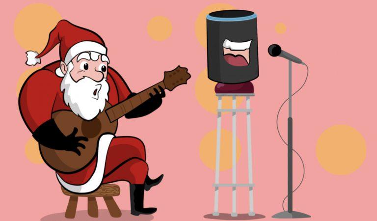 Alexa, chiama Babbo Natale!