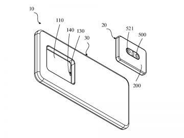 oppo brevetto fotocamera rimovibile