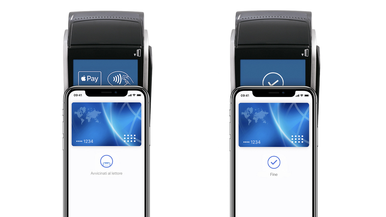 pagamenti contactless negozi apple pay