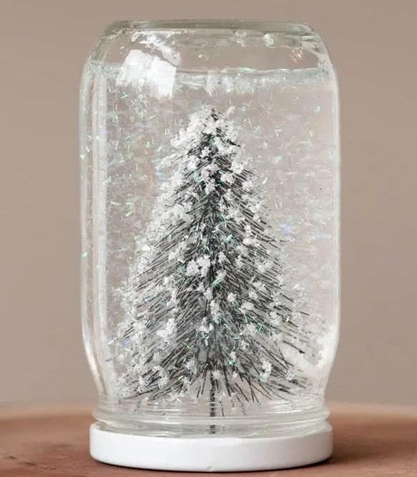 palla di vetro fatta in casa-min