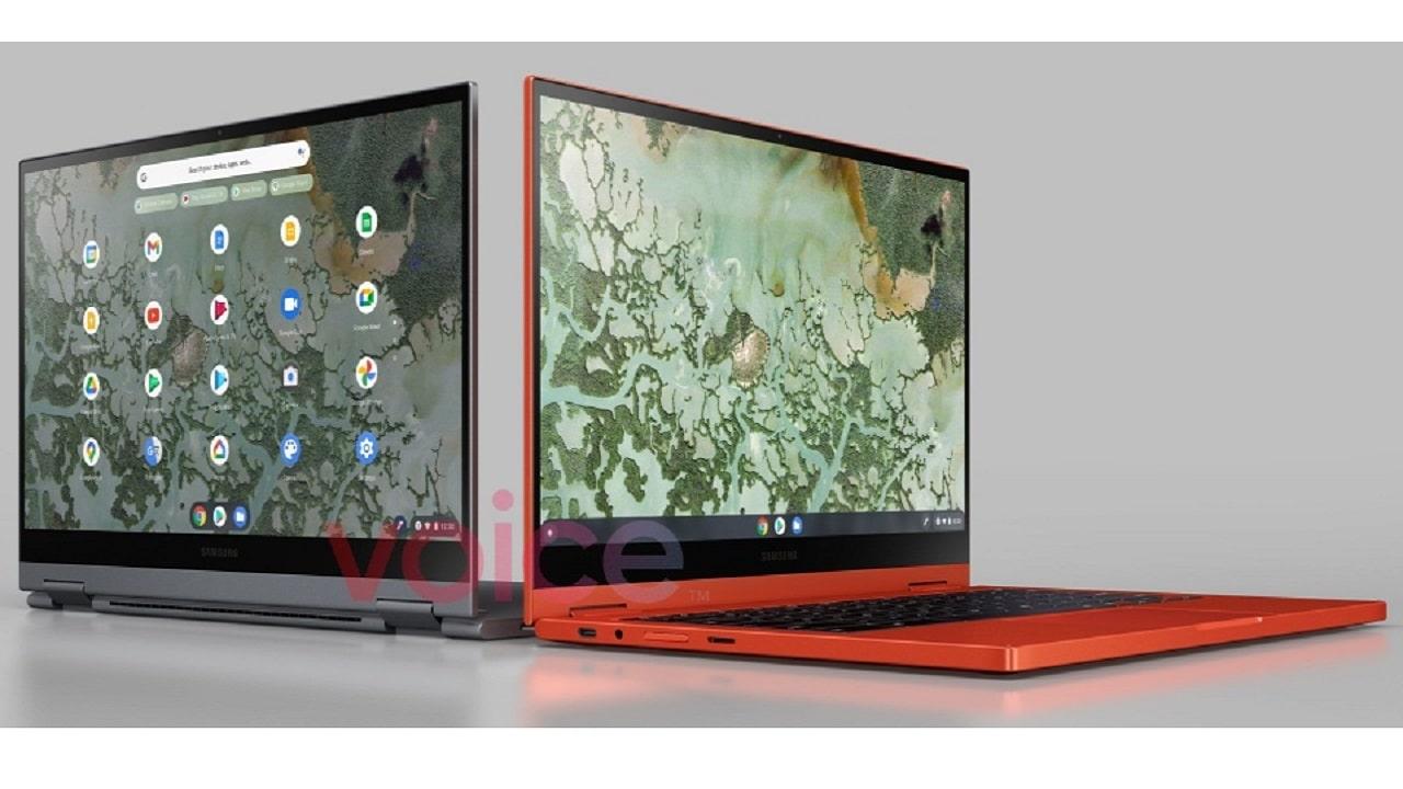 Samsung Galaxy Chromebook 2 si mostra nelle prime immagini trapelate thumbnail