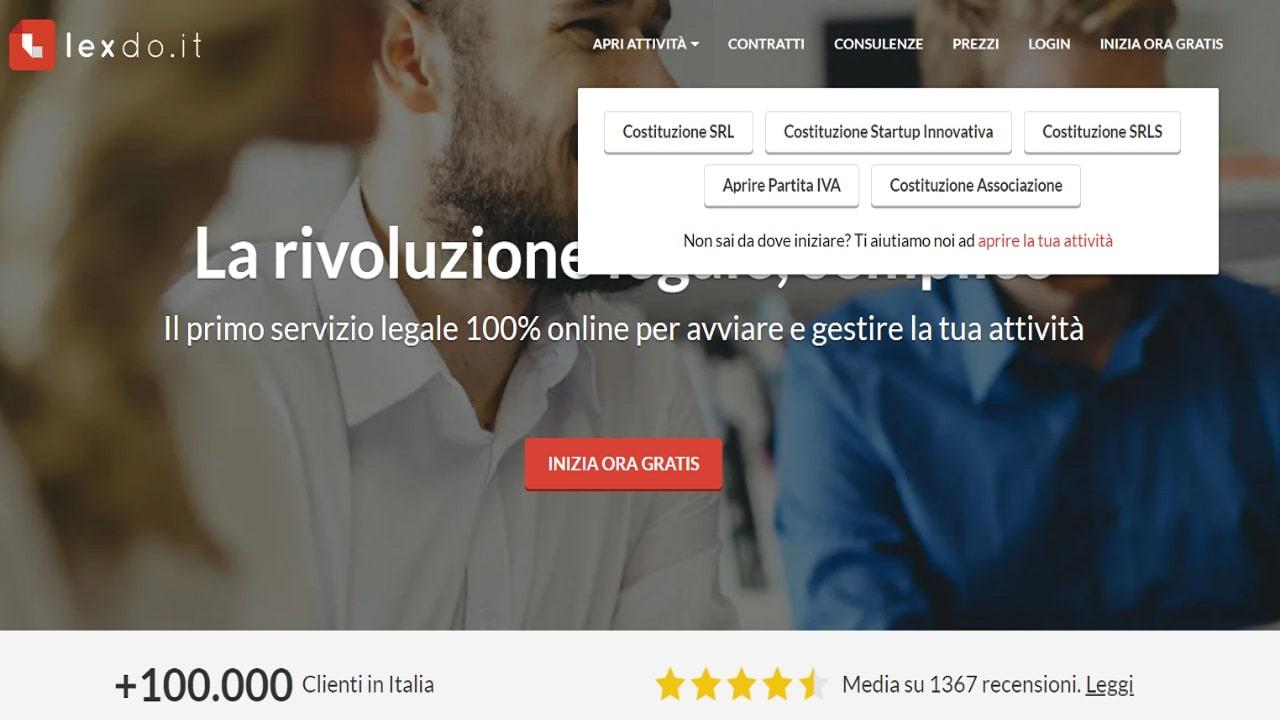 LexDo.it, il primo servizio legale tutto online supera i 100 mila utenti thumbnail