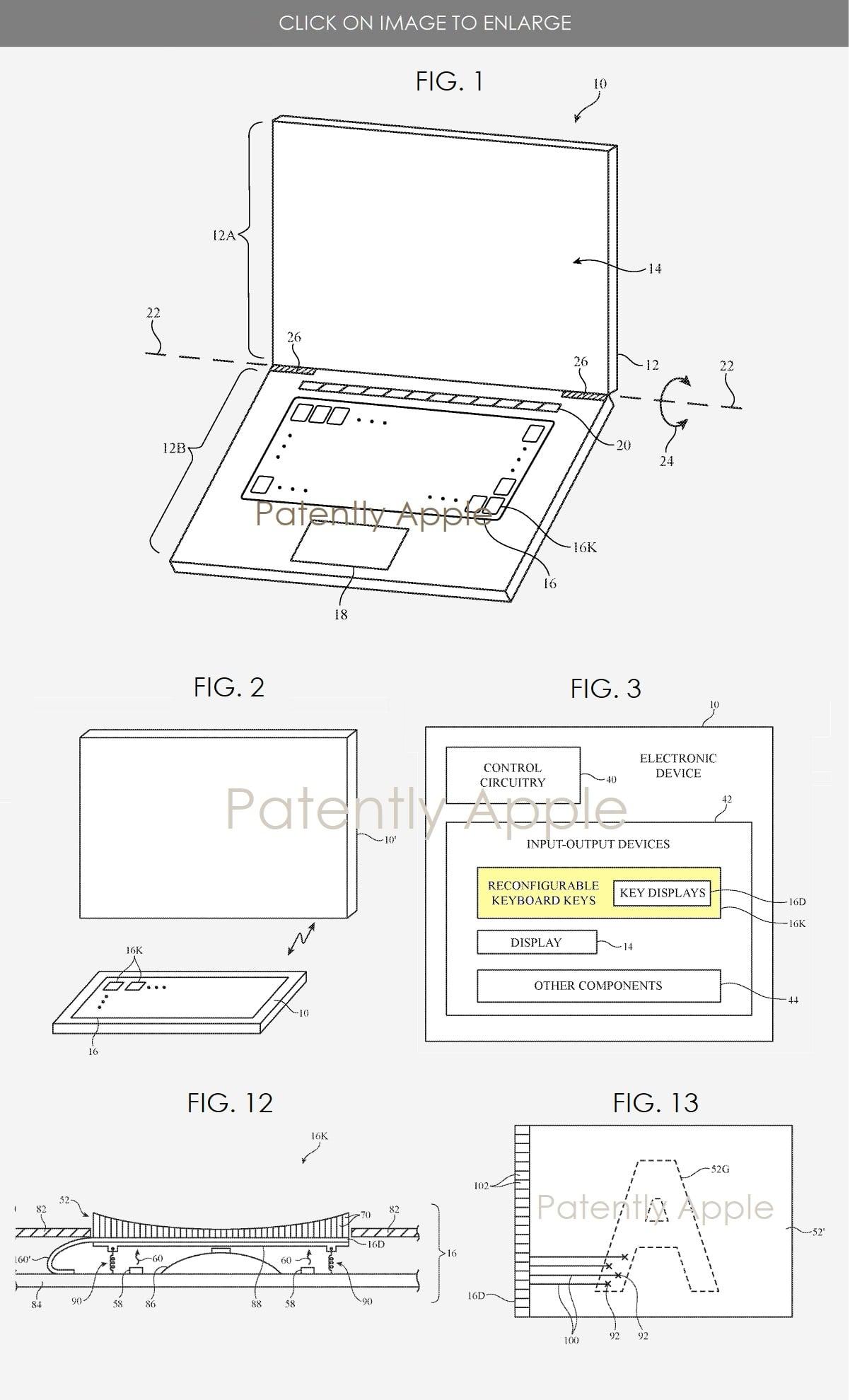 tastiera apple tasti mini display-min