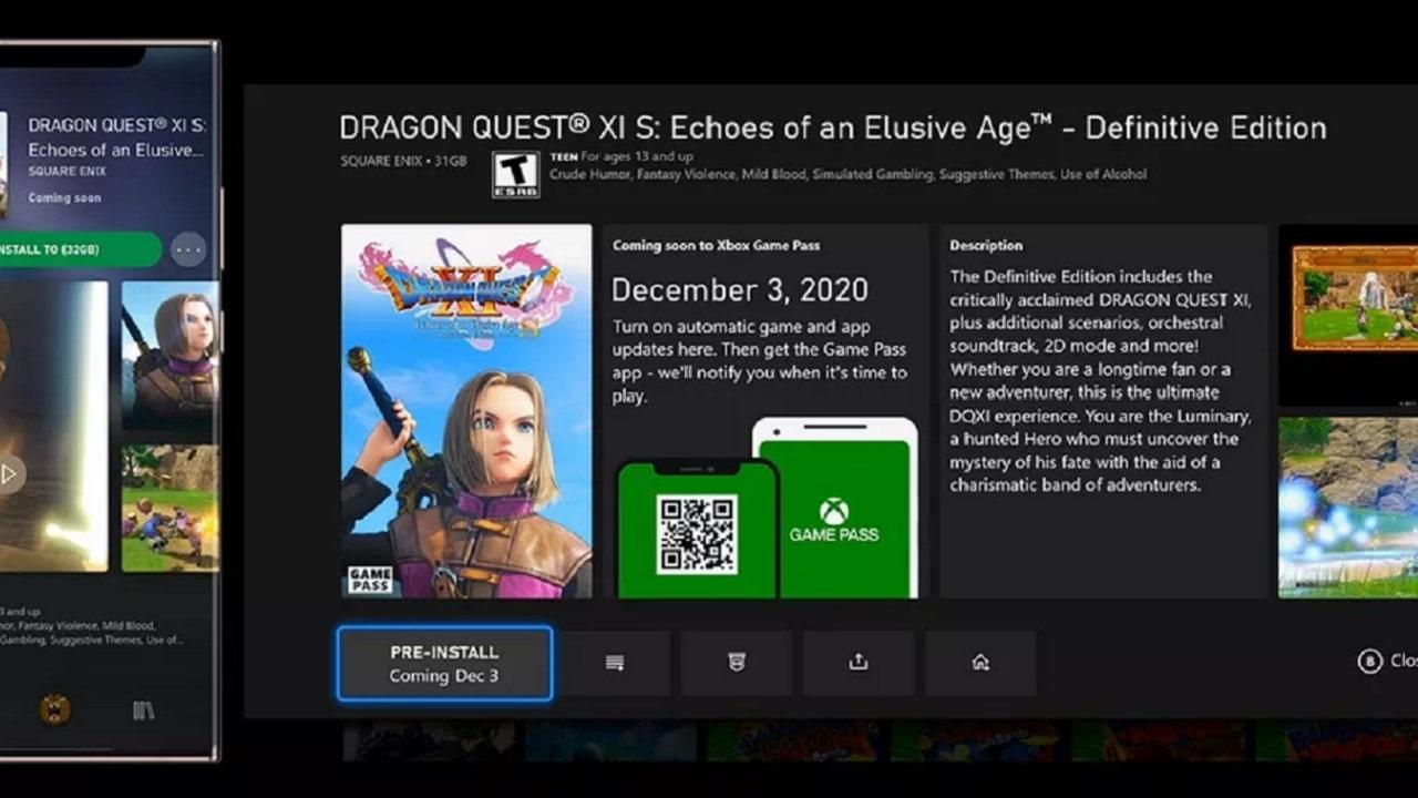 Ora Xbox Game Pass installa i giochi anche prima del lancio thumbnail