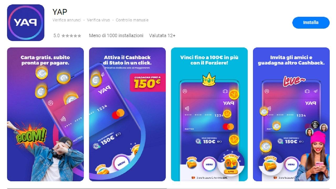 YAP, l'app per i pagamenti con lo smartphone, arriva su Huawei AppGallery thumbnail